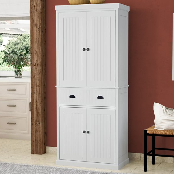 Gerania Kitchen Pantry Intended For 2020 Tall Microwave Pantry Cabinet (Gallery 14 of 20)