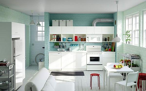 Gerania Kitchen Pantry Regarding Newest Ikea Kitchens (Gallery 17 of 20)
