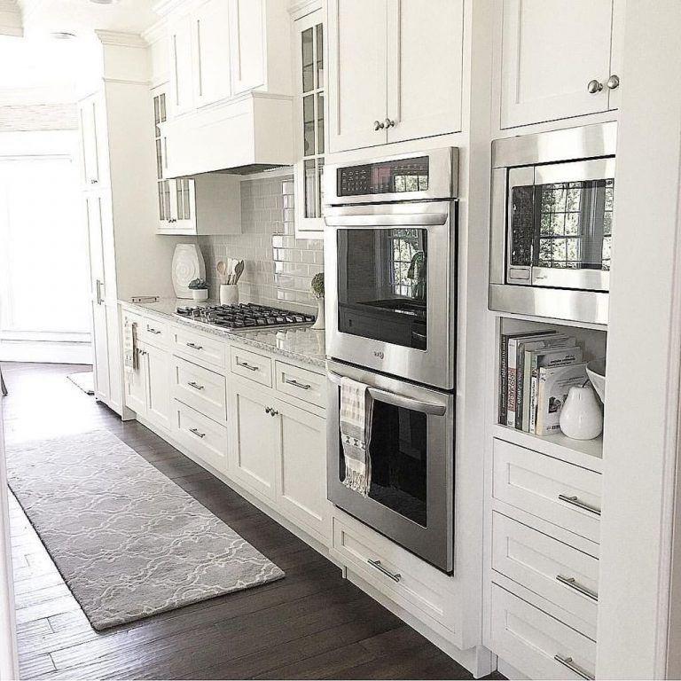Gillispie Kitchen Pantry Intended For Well Liked 43 Classy White Kitchen Cabinets Decor Ideas – Page 9 Of 43 (Gallery 12 of 20)
