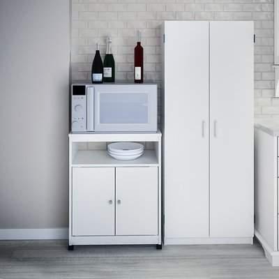"Gillispie Kitchen Pantry Regarding Popular Red Barrel Studio Kory 30"" Kitchen Pantry Red Barrel Studio (Gallery 11 of 20)"