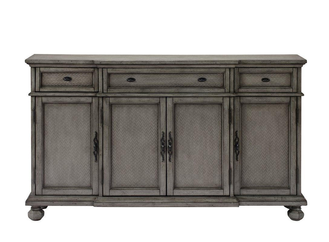 Giulia 3 Drawer Credenza | Saavedra Residence | Sideboard For Senda Credenzas (View 13 of 20)