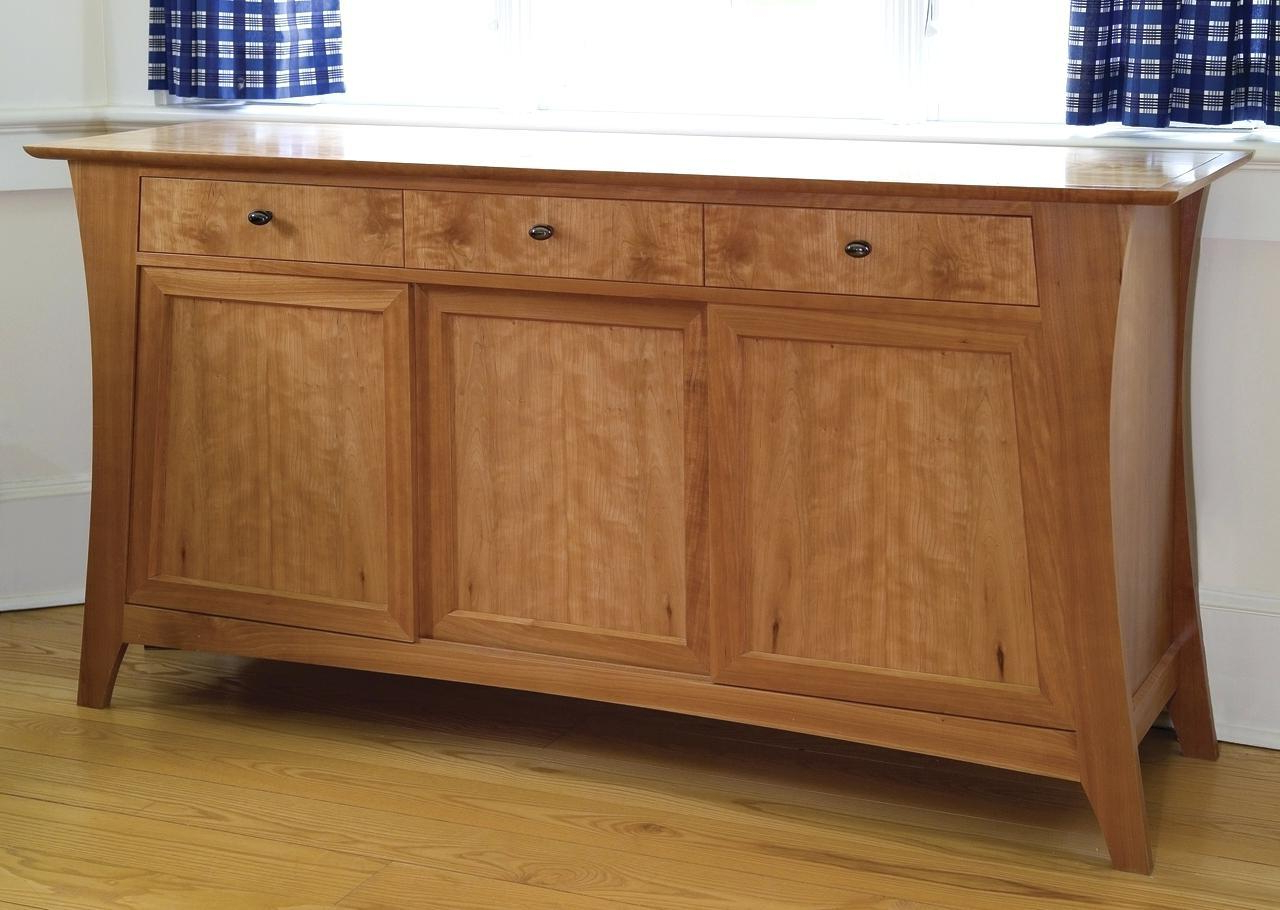 Gorgeous Small Shallow Sideboard Village Room Furniture Intended For Annecy Sideboards (Gallery 10 of 20)