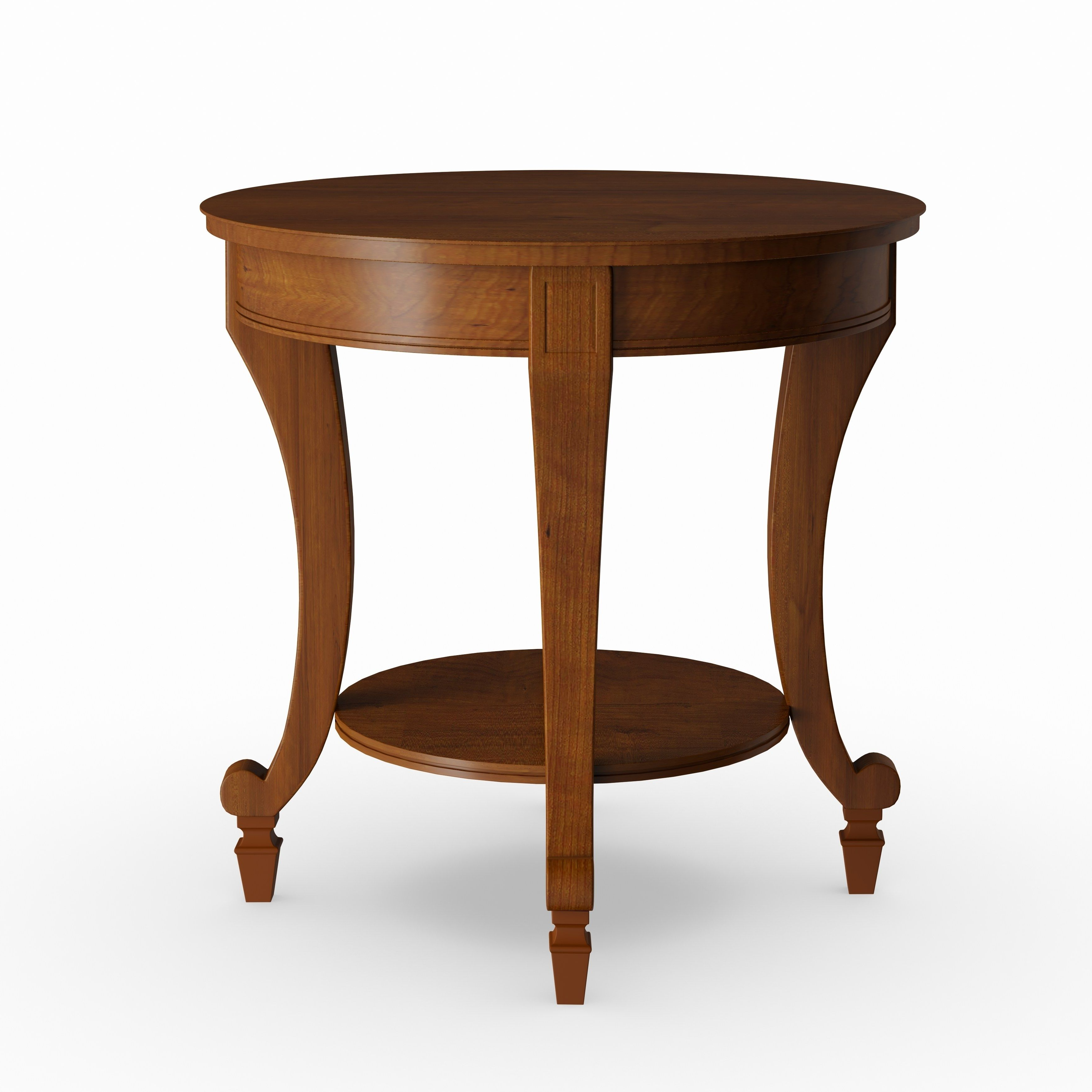 Gracewood Hollow Dones Traditional Cinnamon Round End Table Within Preferred Gracewood Hollow Dones Traditional Cinnamon Round End Tables (View 3 of 20)