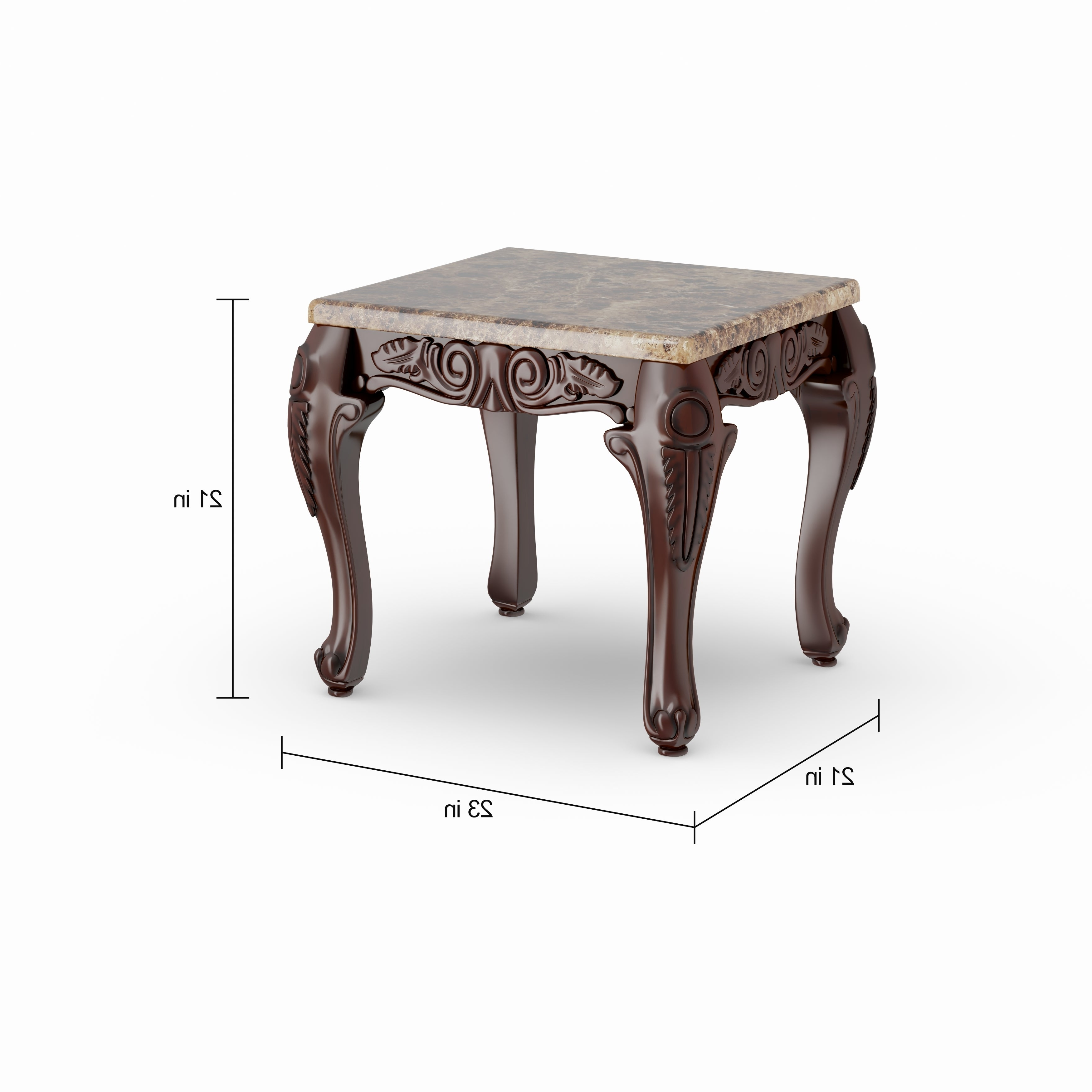 Gracewood Hollow Mckinley Traditional 3 Piece Accent Table Set For Fashionable Gracewood Hollow Fishta Antique Brass Metal Glass 3 Piece Tables (Gallery 11 of 20)