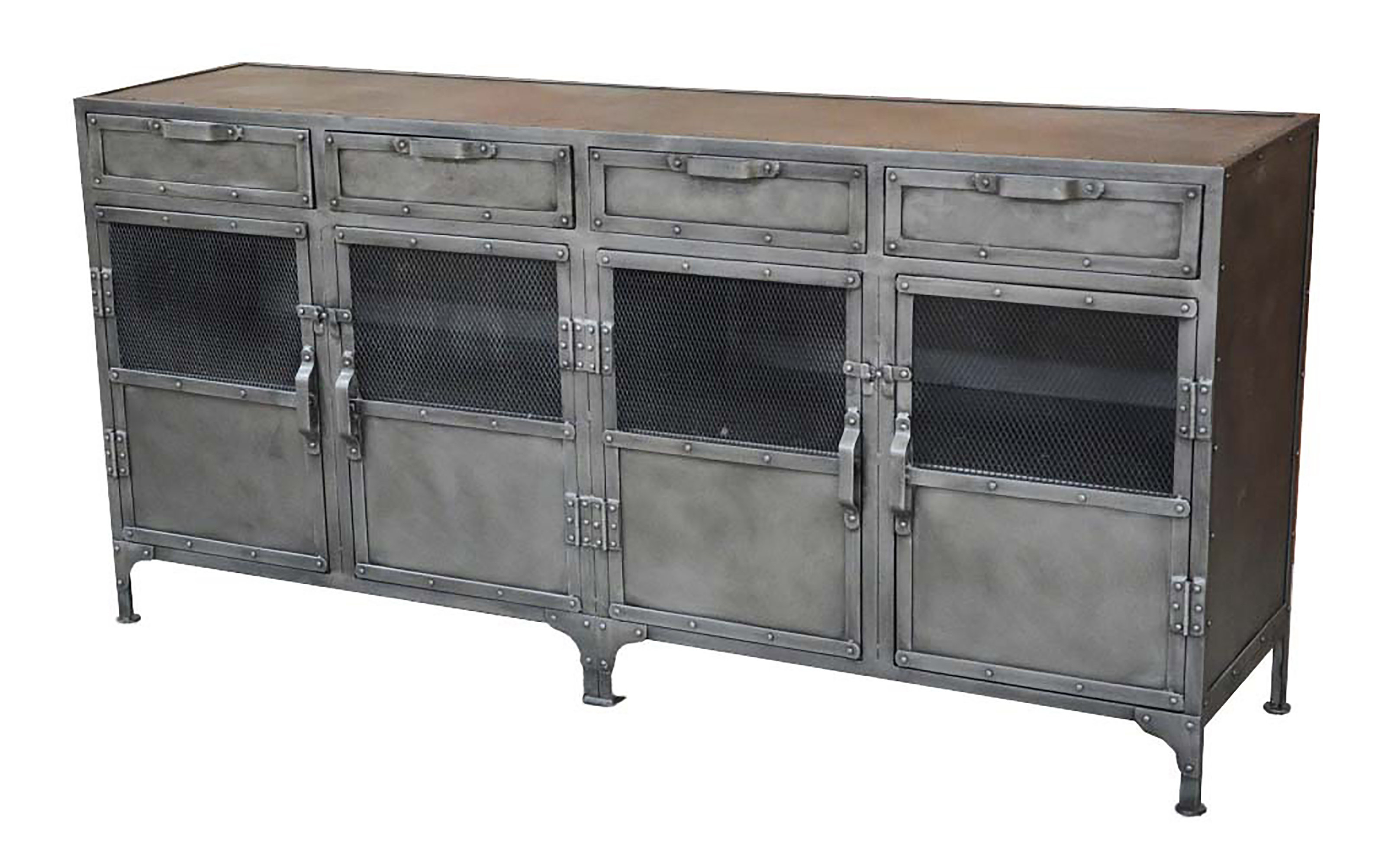 Grey Metal Sideboards & Buffets You'll Love In 2019 | Wayfair In Casolino Sideboards (View 6 of 20)