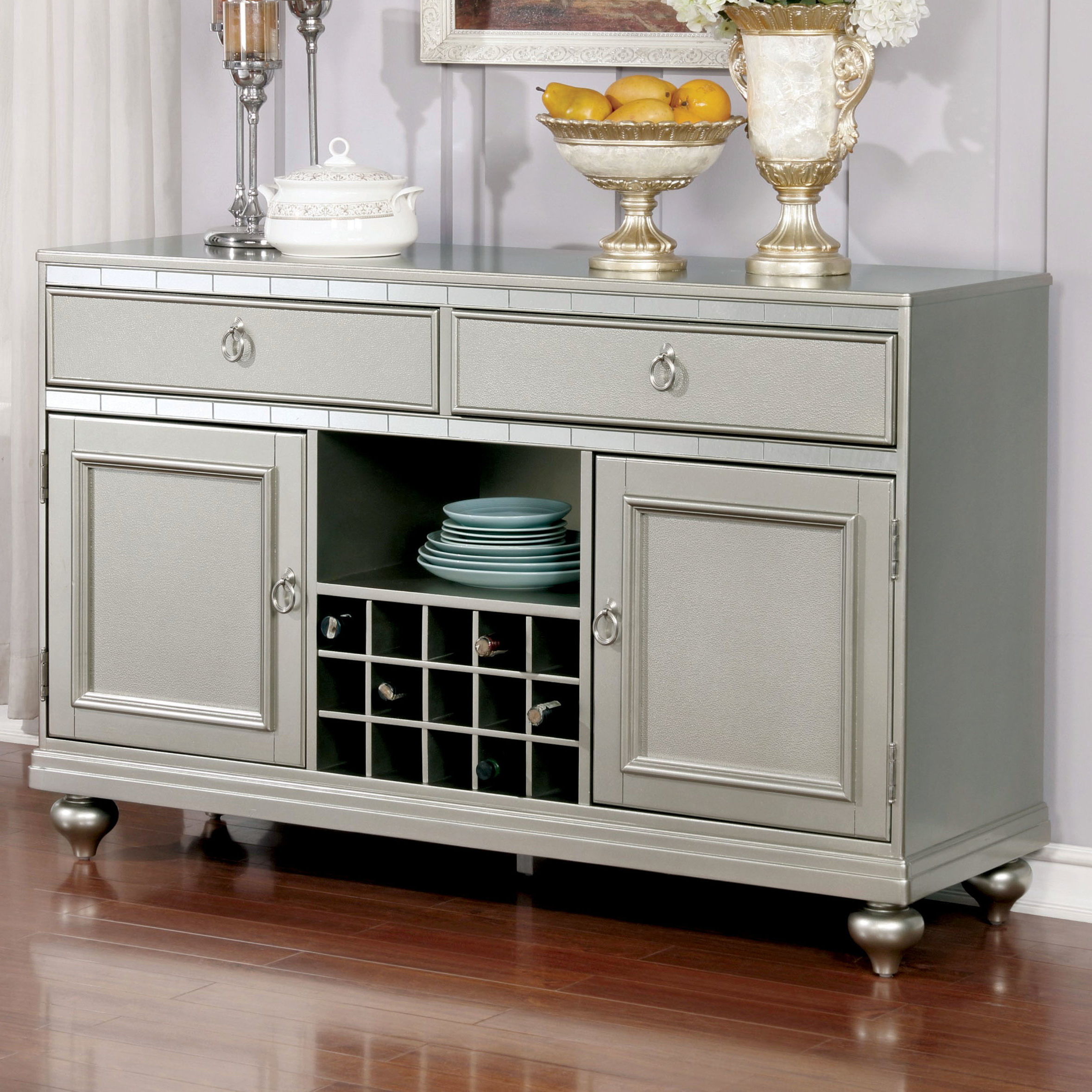 Grey Metal Sideboards & Buffets You'll Love In 2019 | Wayfair Pertaining To Casolino Sideboards (View 5 of 20)