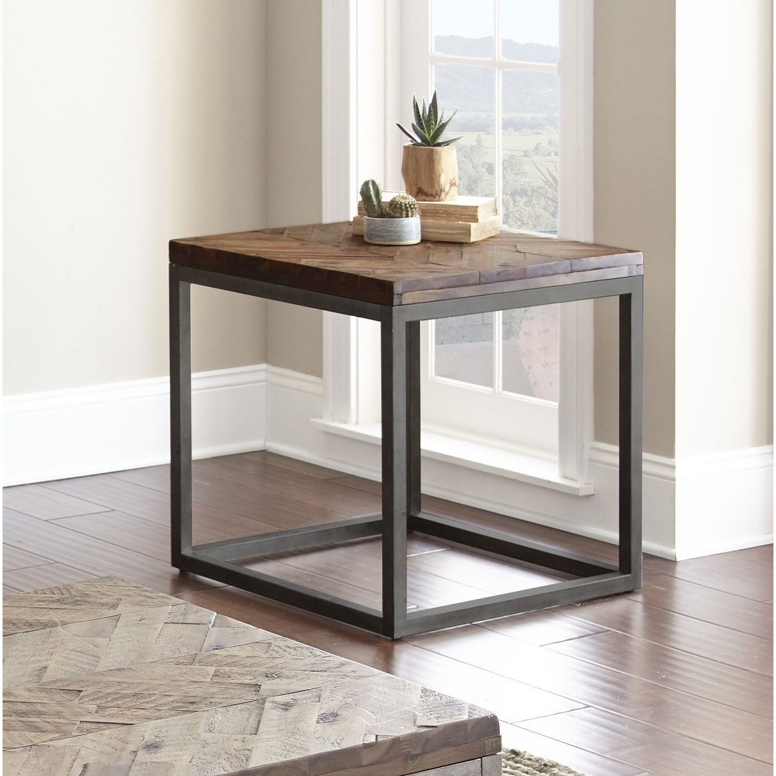 Greyson Living Lockwood 24 Inch Square End Table By For Popular Lockwood Rectangle Coffee Tables (View 9 of 20)