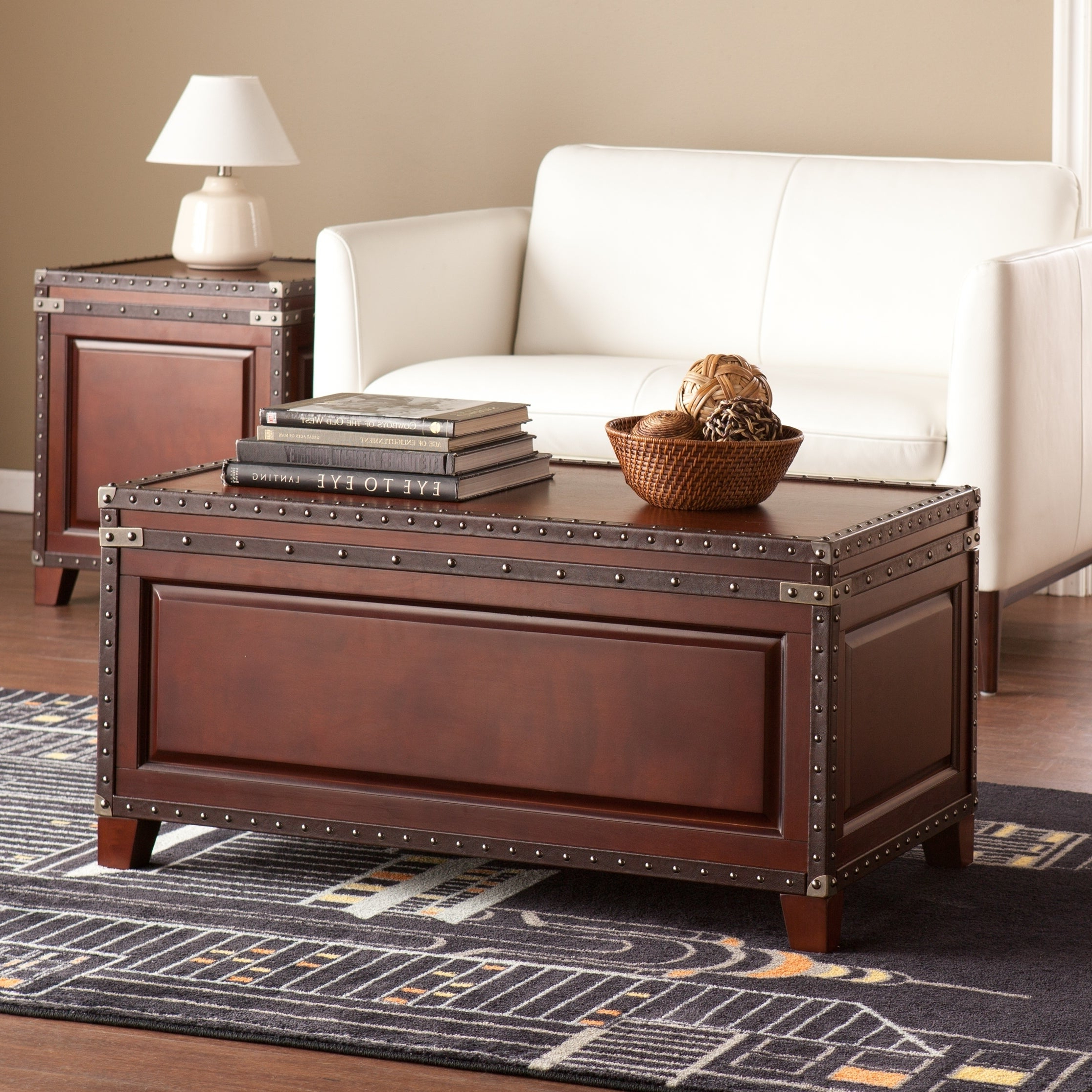 Featured Photo of Harper Blvd Ailsa Trunk Cocktail Coffee Tables