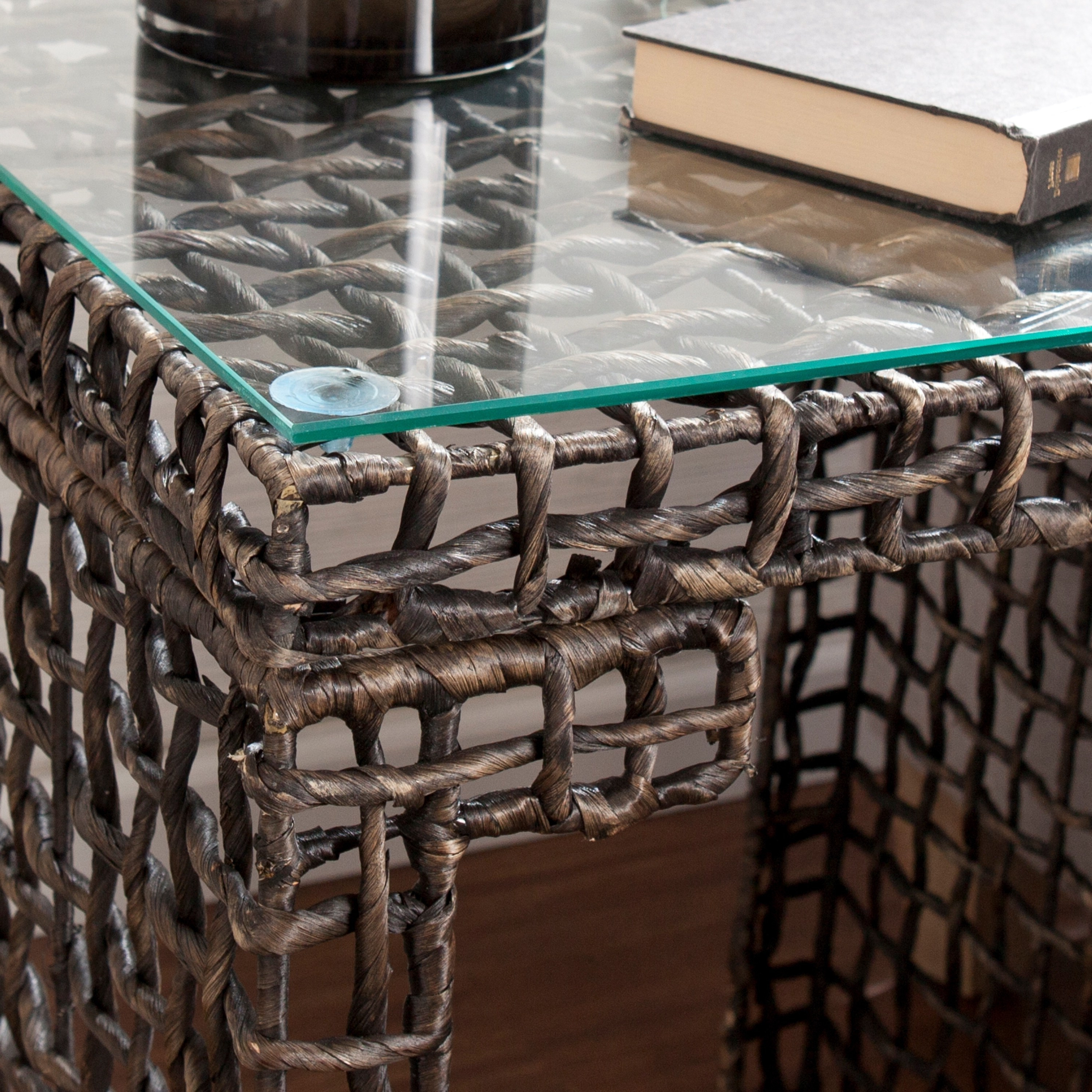 Harper Blvd The Curated Nomad Belize Woven Side Table With Regard To 2019 The Curated Nomad Belize Woven Cocktail Tables (View 5 of 20)