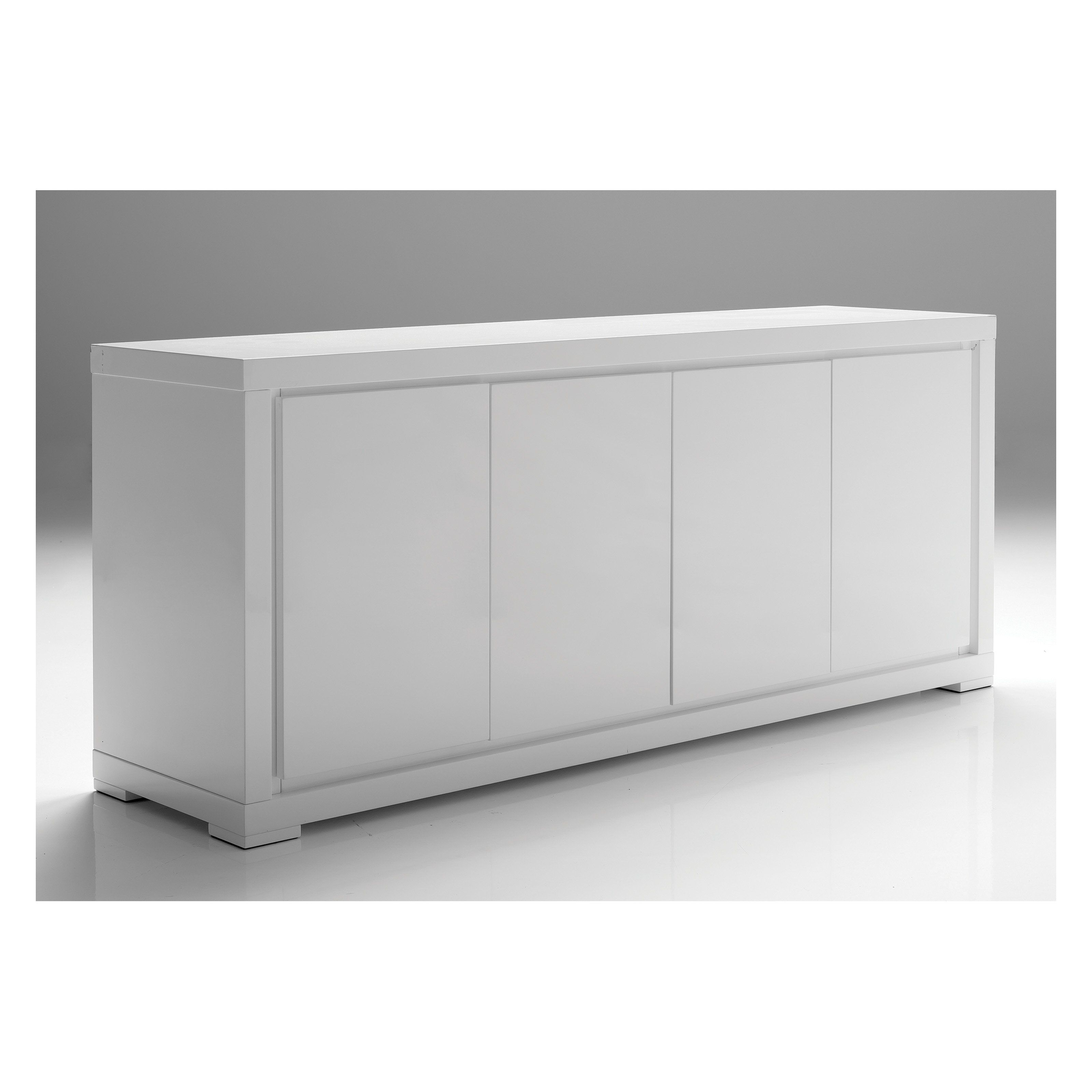 Have To Have It. Maze 4 Door Dining Buffet – White $ (View 4 of 20)