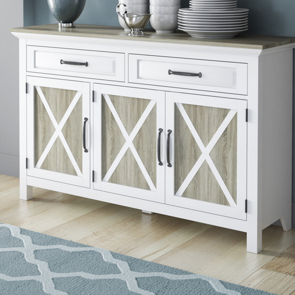 Haverly Sideboard In Rutherford Sideboards (View 3 of 20)