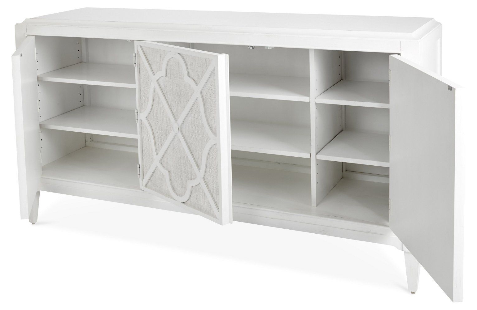 """Hawkins Point 72"""" Sideboard, White – Buffets & Sideboards Inside Mcdonnell Sideboards (View 9 of 20)"""