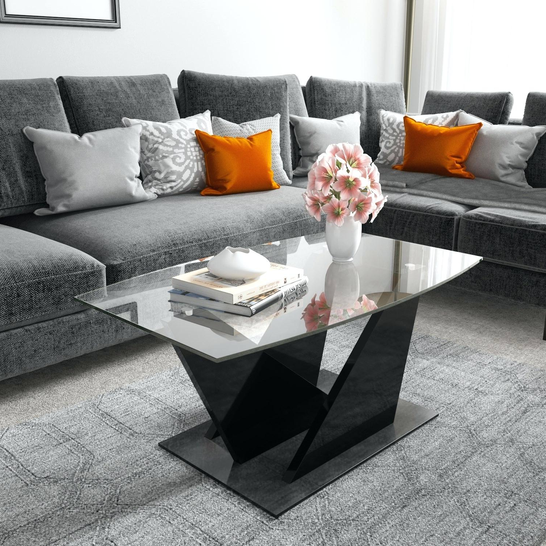 High Gloss Black Coffee Table – Happyacademy (View 18 of 20)