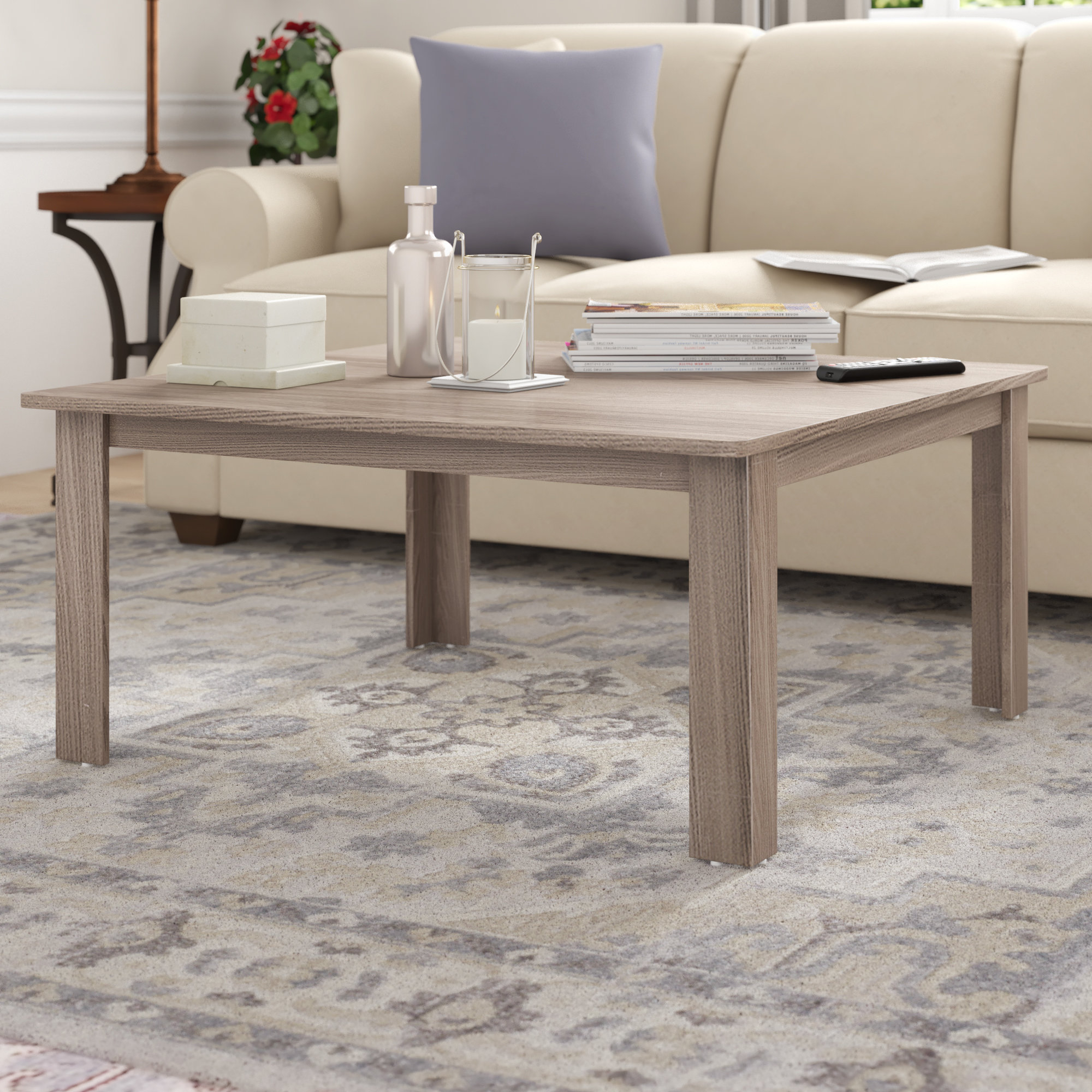 Highbridge Coffee Table With Regard To Trendy Shaker Unfinished Solid Parawood Tall Coffee Tables (View 20 of 20)