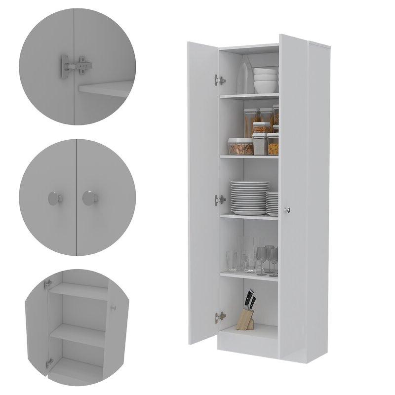 "Highbury Multi Storage Kitchen Pantry In Well Known Highbury Multi Storage 71"" Kitchen Pantry (View 3 of 20)"