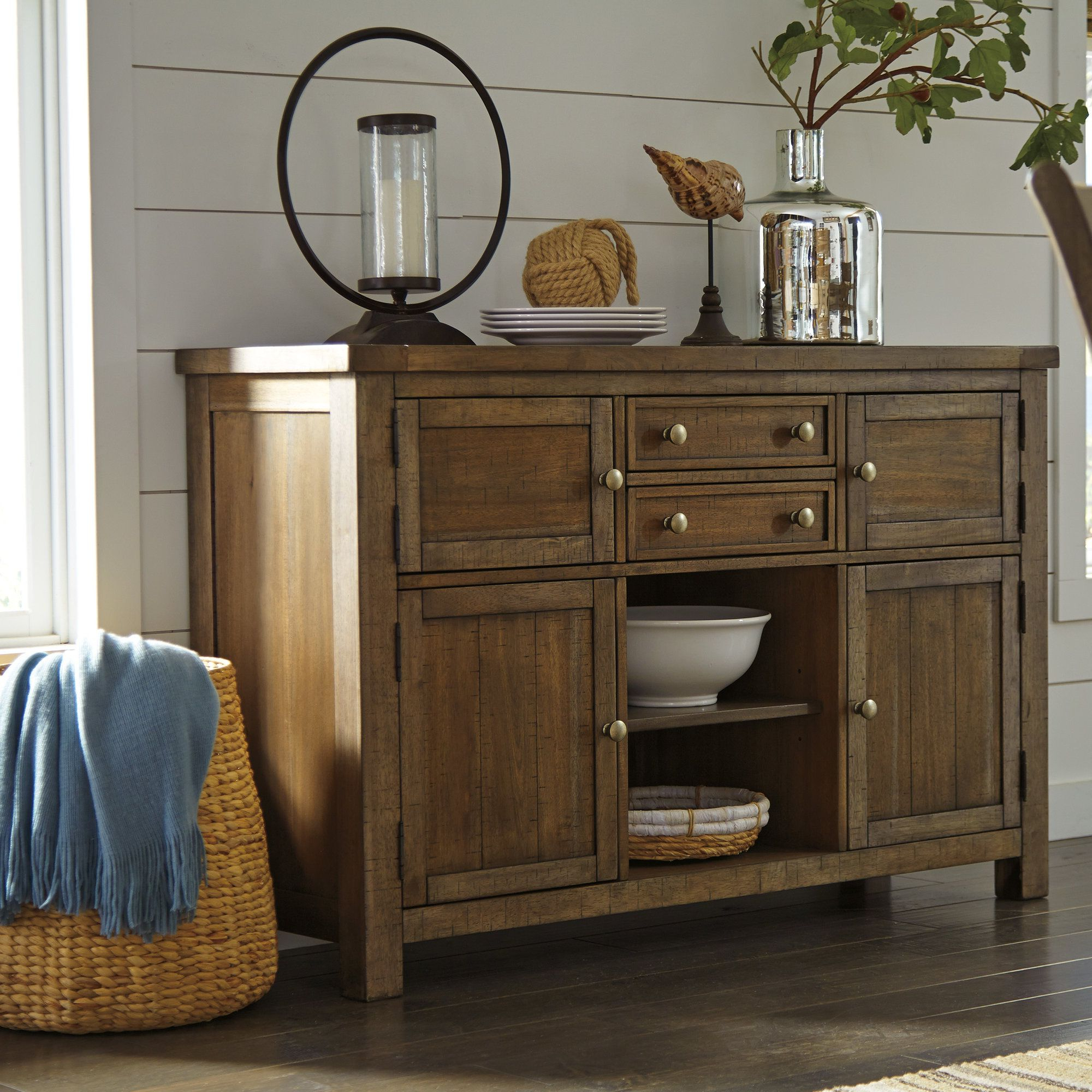 Hillary Dining Room Buffet Table | Dining Room Furniture Within Nashoba Sideboards (View 5 of 20)