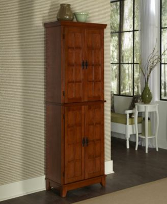 Hollo Kitchen Pantry Within Current Home Styles Arts & Crafts Cottage Oak Pantry – Cottage Oak (View 17 of 20)