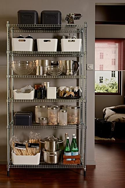 Featured Photo of Metal Kitchen Pantry