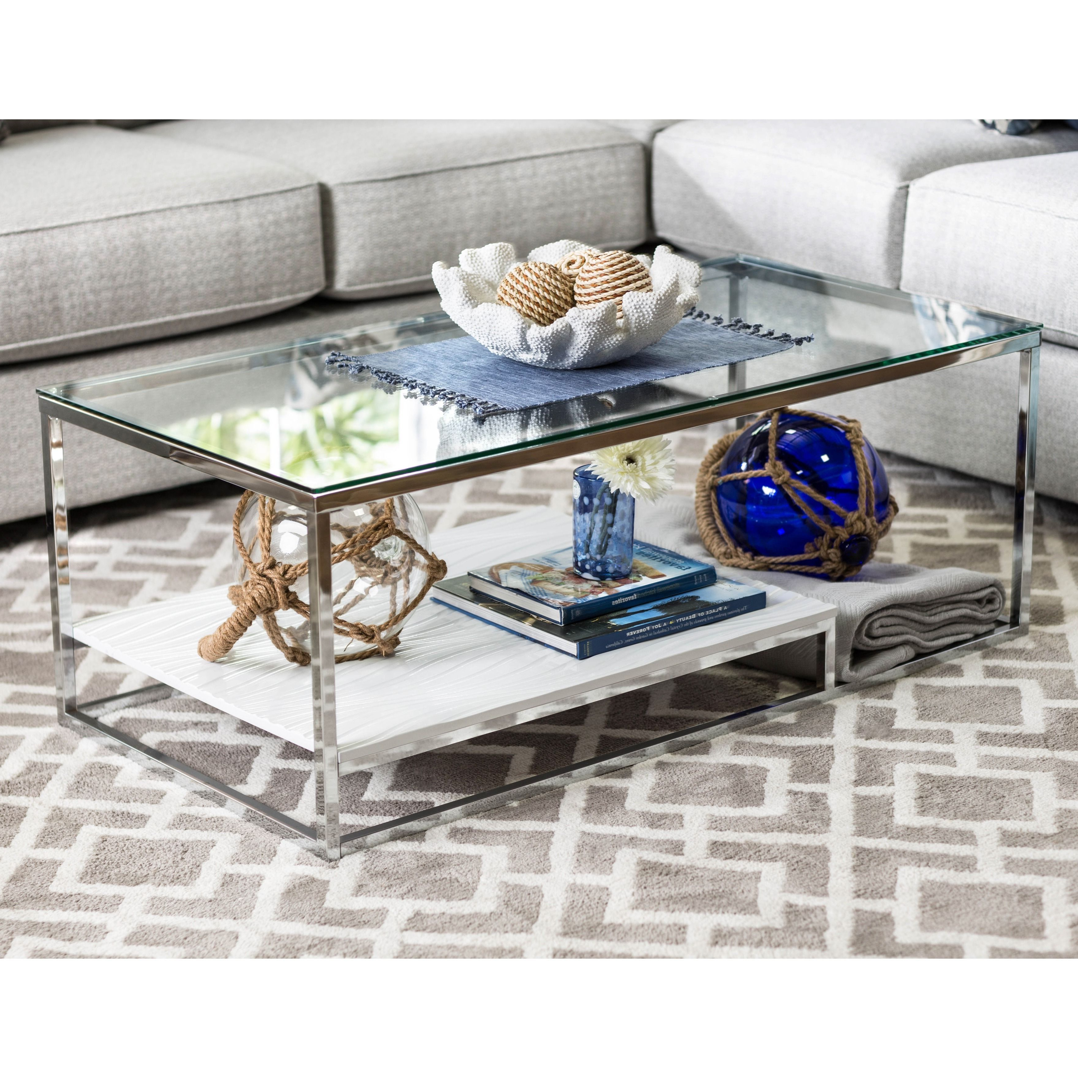 Home Inside Popular Strick & Bolton Florence Chrome Coffee Tables (View 2 of 20)