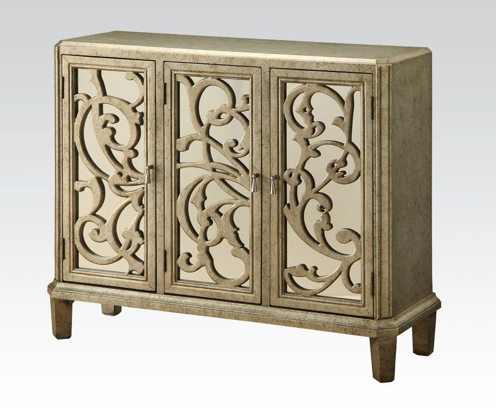 Hooker Furniture Chatelet 4 Door Credenza 5351 85001 Within Steinhatchee Reclaimed Pine 4 Door Sideboards (View 20 of 20)