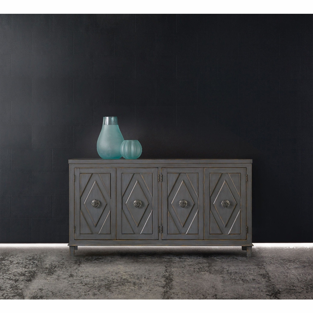 Hooker Furniture – Melange Raellen Console – 638 85159 With Regard To Melange Brockton Sideboards (View 7 of 20)