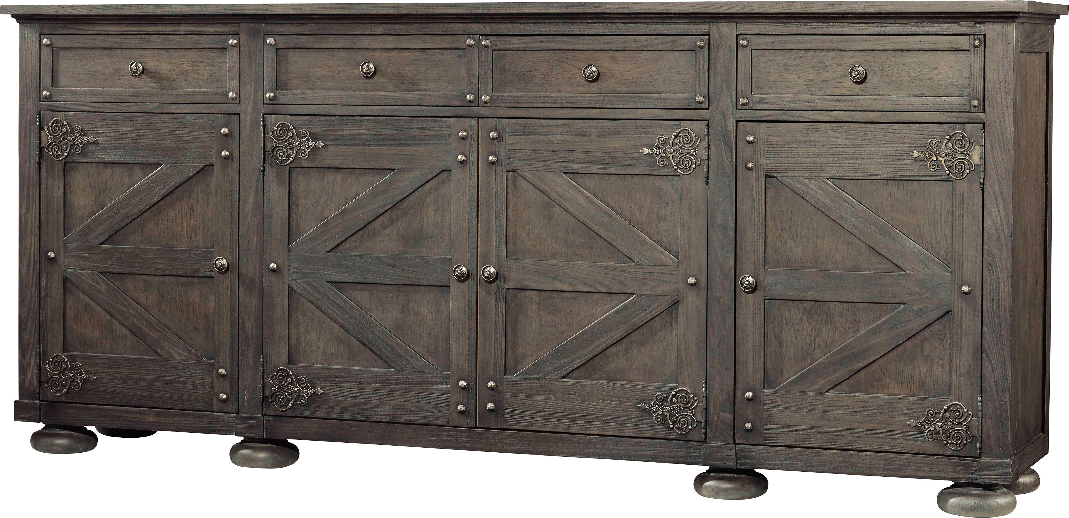 Industrial Sideboard / Credenza Sideboards & Buffets You'll In Alegre Sideboards (View 9 of 20)