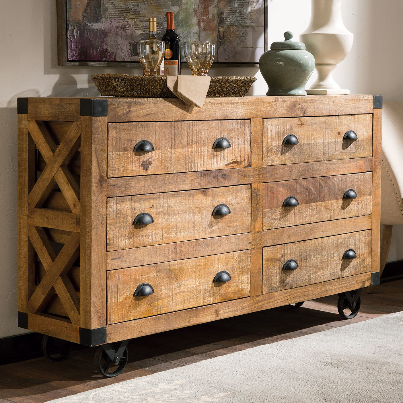 Industrial Sideboards & Buffets | Birch Lane Intended For Adkins Sideboards (View 2 of 20)