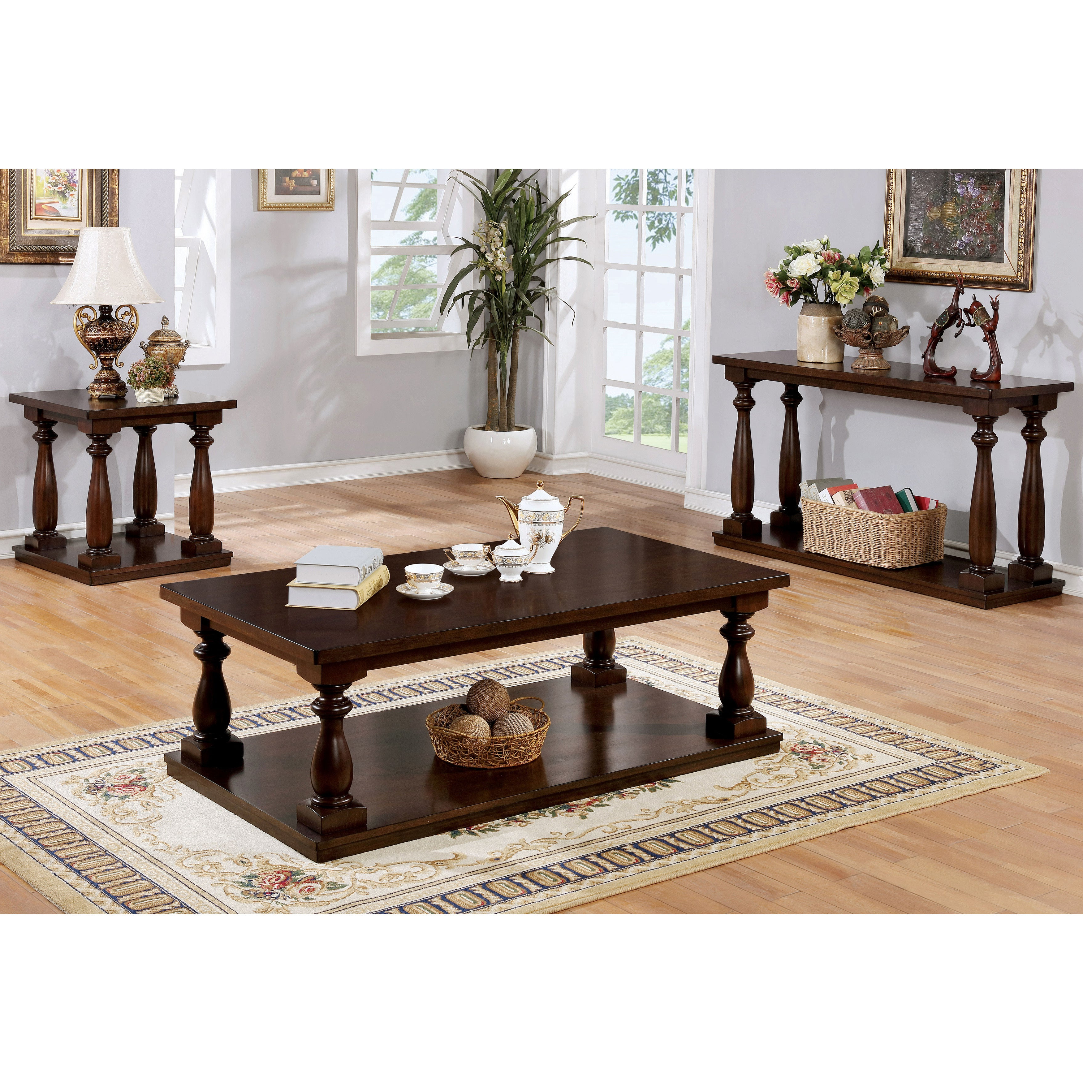 Jessa Rustic Country 54 Inch Coffee Tablefoa Pertaining To Best And Newest Jessa Rustic Country 54 Inch Coffee Tables (Gallery 4 of 20)