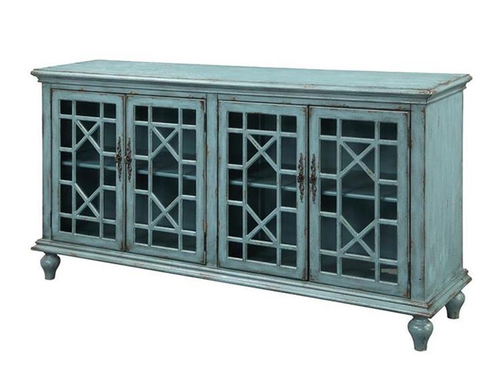 Joplin 4 Door Tv Stand – Bayberry Blue | Living Room With Regard To Colborne Sideboards (View 12 of 20)