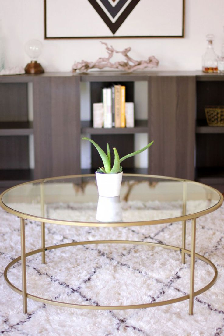 Julie Rust (Jrust0670) On Pinterest Throughout Trendy Carbon Loft Heimlich Metal Glass Rectangle Coffee Tables (View 13 of 20)