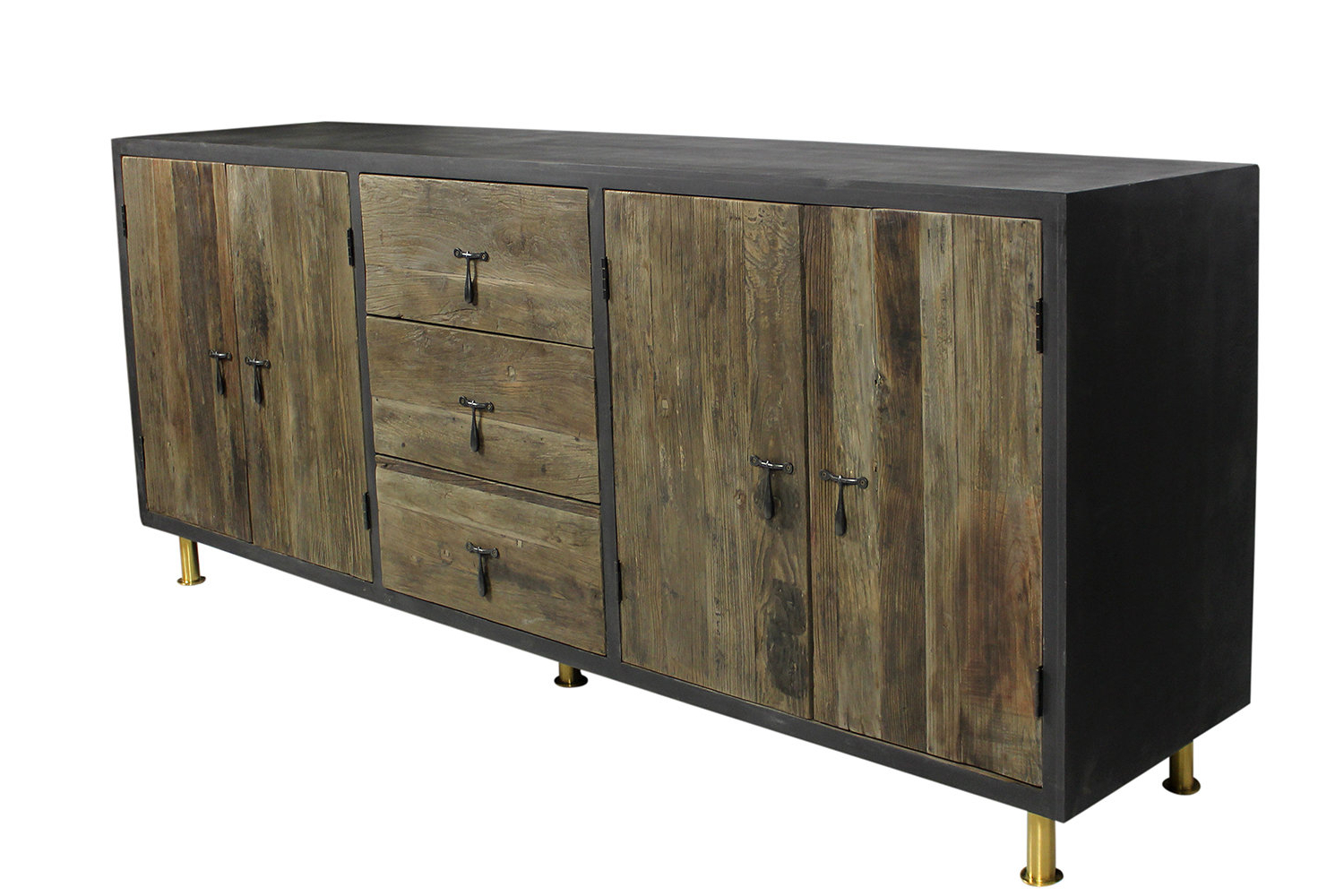 Keith 4 Door Credenza | Wayfair Inside Kieth 4 Door Credenzas (View 6 of 20)