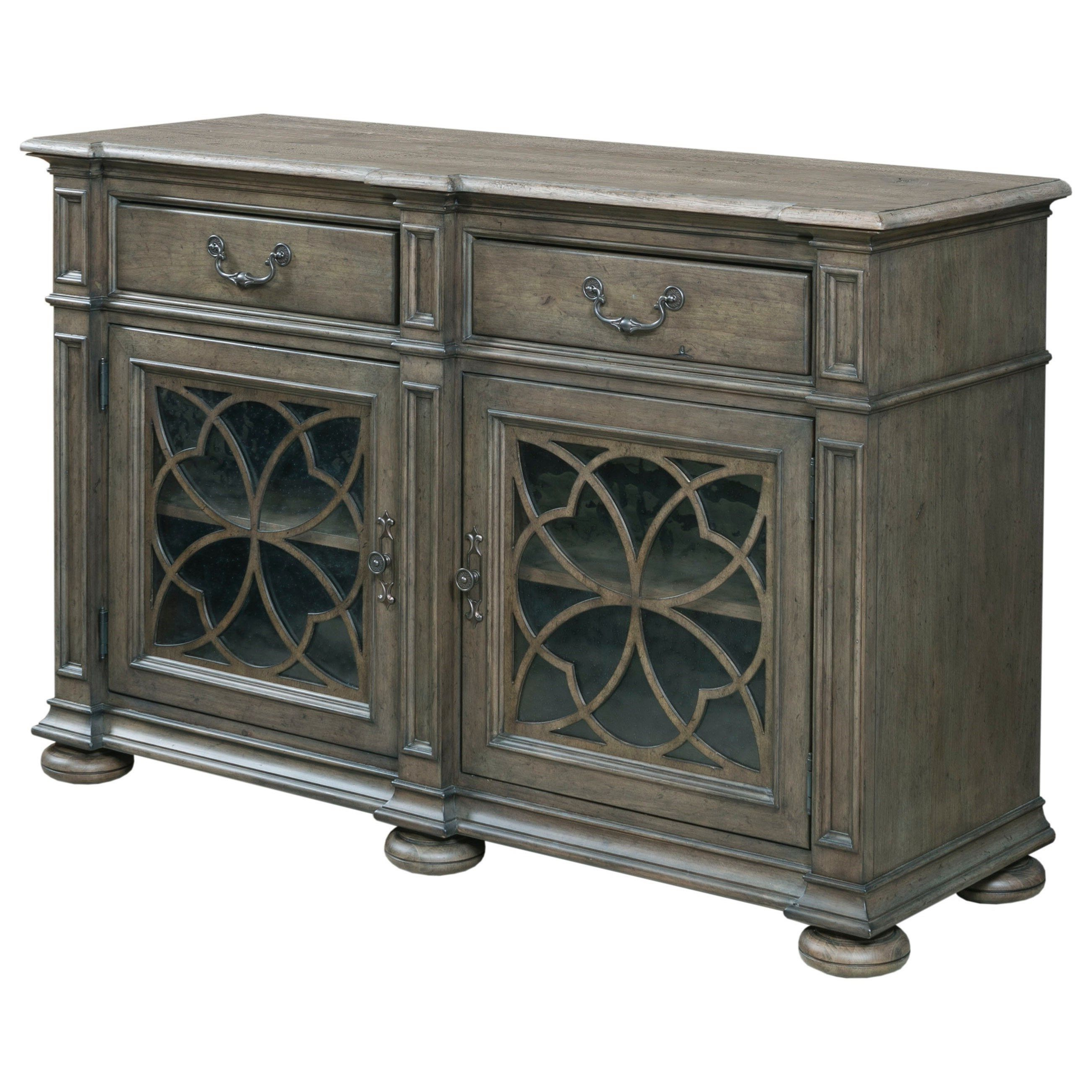 Kincaid Furniture Greyson Harper Two Door Buffet With Pertaining To Kratz Sideboards (View 3 of 20)
