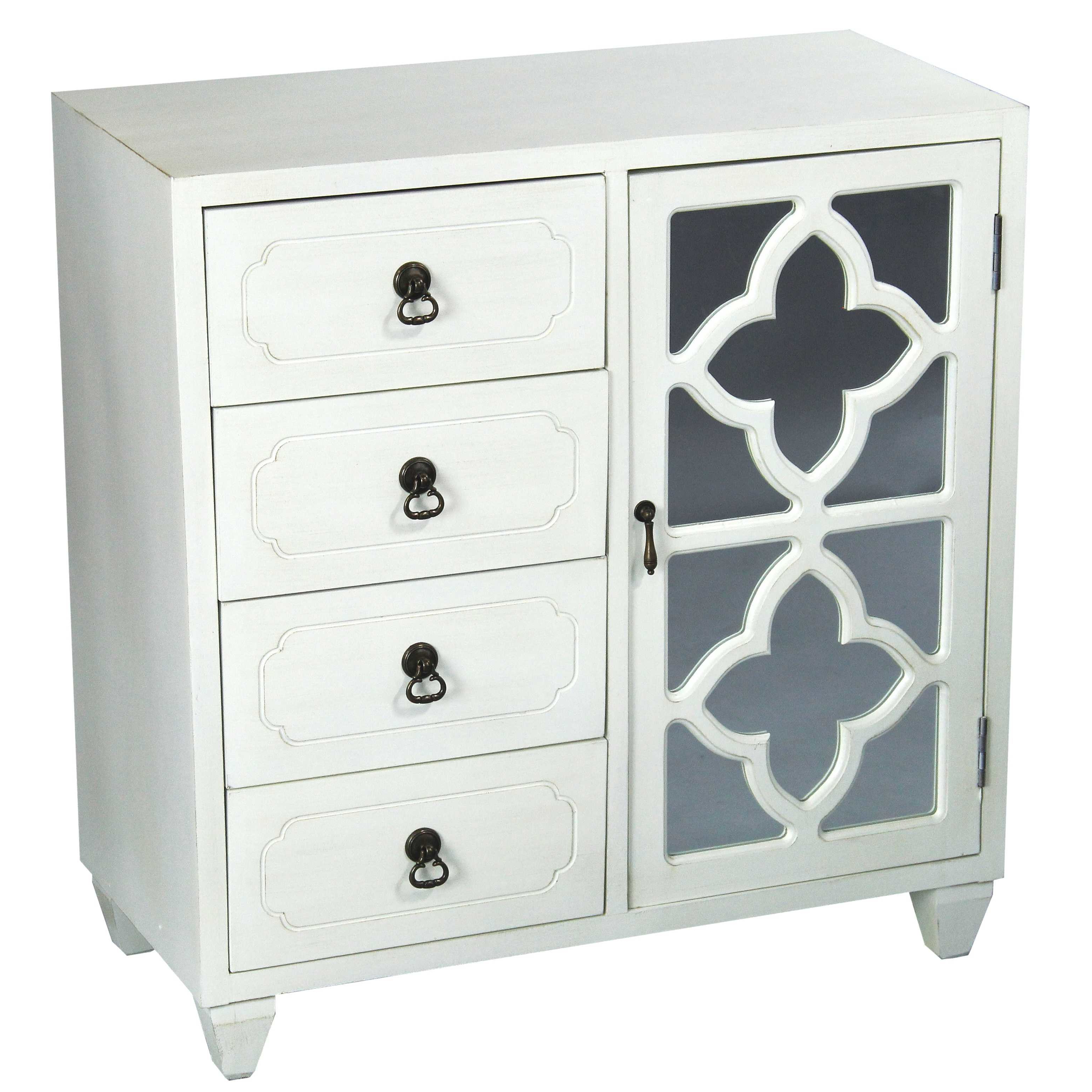Kirtin 1 Door 4 Drawer Server Within Drummond 4 Drawer Sideboards (View 6 of 20)