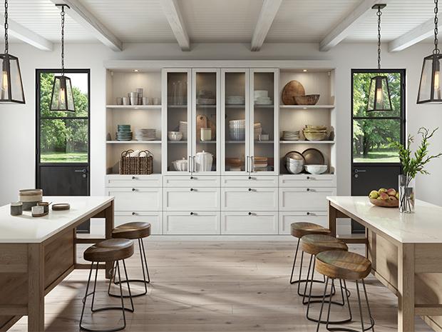 Kitchen Organization Ideas With Farmhouse Kitchen Pantry (Gallery 15 of 20)