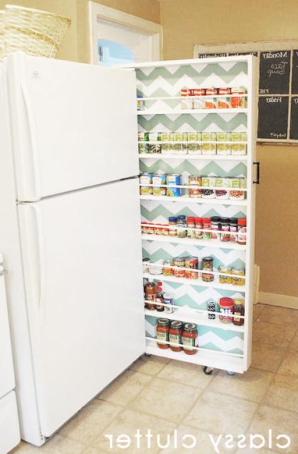 Kitchen Organization Tips And Tricks Regarding Most Popular Gatley Kitchen Pantry (View 15 of 20)