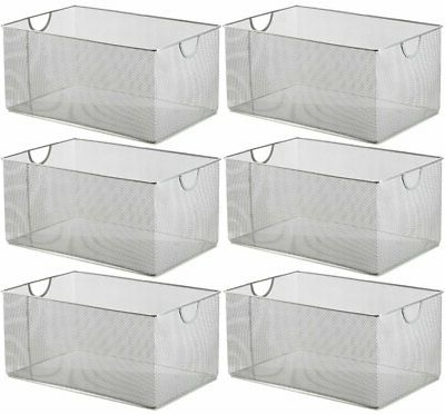 Kitchen Pantry By Rebrilliant Pertaining To Widely Used Rebrilliant Kitchen Pantry Organizer Upper Wire Mesh Basket Yxvq1398 Set Of (View 10 of 20)