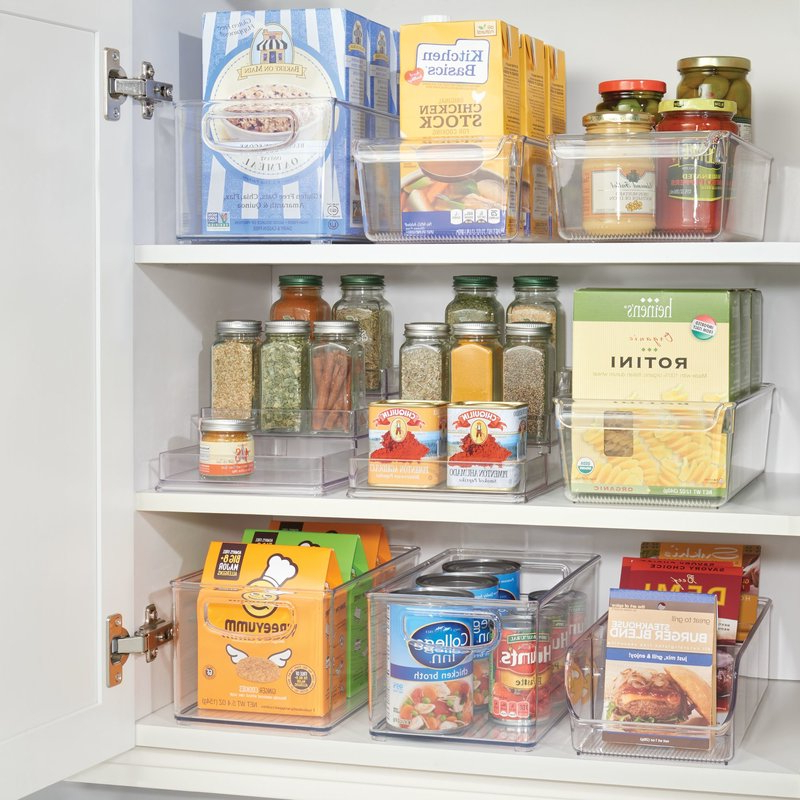 Kitchen Pantry Food Storage Containers – Kitchen Appliances Throughout Best And Newest Kitchen Pantry By Rebrilliant (View 19 of 20)