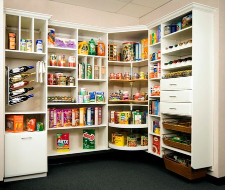 Kitchen Pantry Intended For Recent Home Kitchen Pantries (Gallery 8 of 20)