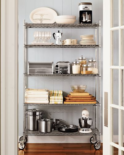 Kitchen Pantry Shelving – Metrowilliams Sonoma (Gallery 6 of 20)