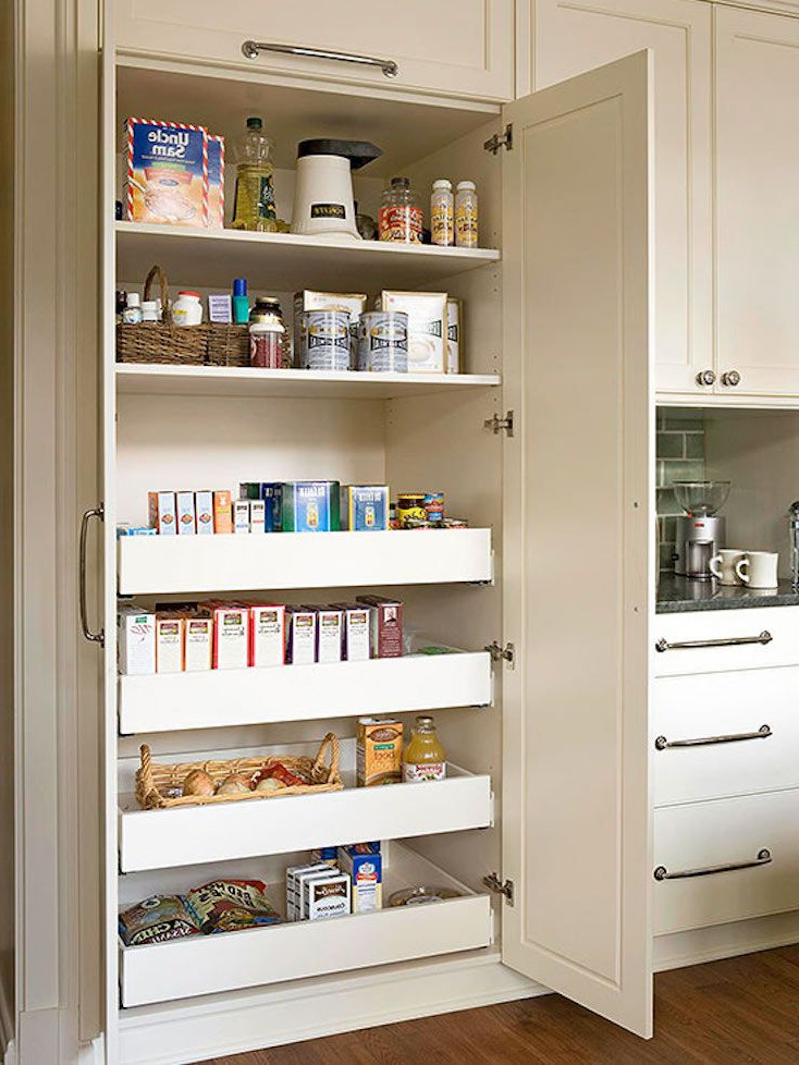 Kitchen With Regard To Most Recently Released Blairwood Kitchen Pantry (Gallery 7 of 20)