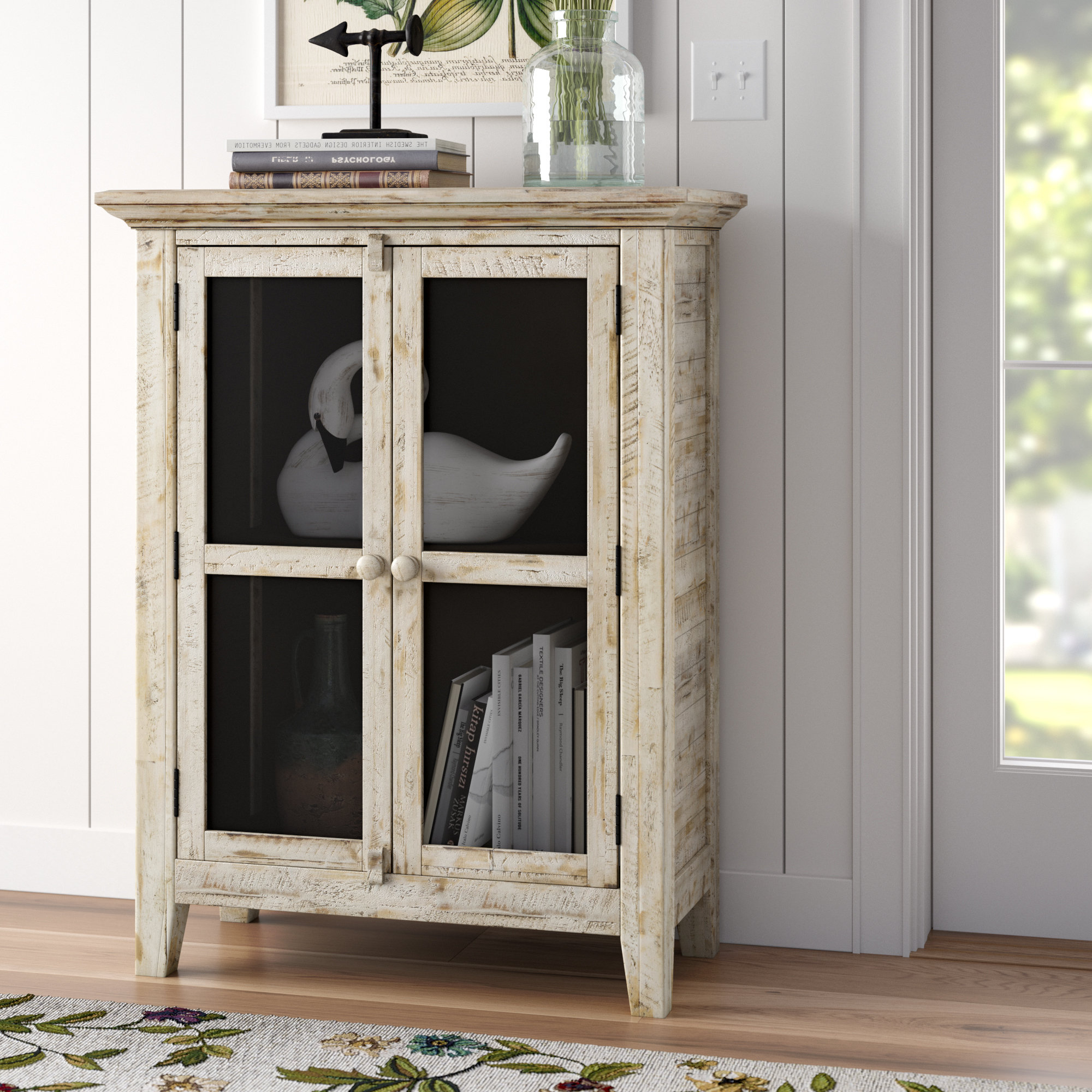Lark Manor Eau Claire 2 Door Accent Cabinet With Regard To Eau Claire 6 Door Accent Cabinets (View 16 of 20)