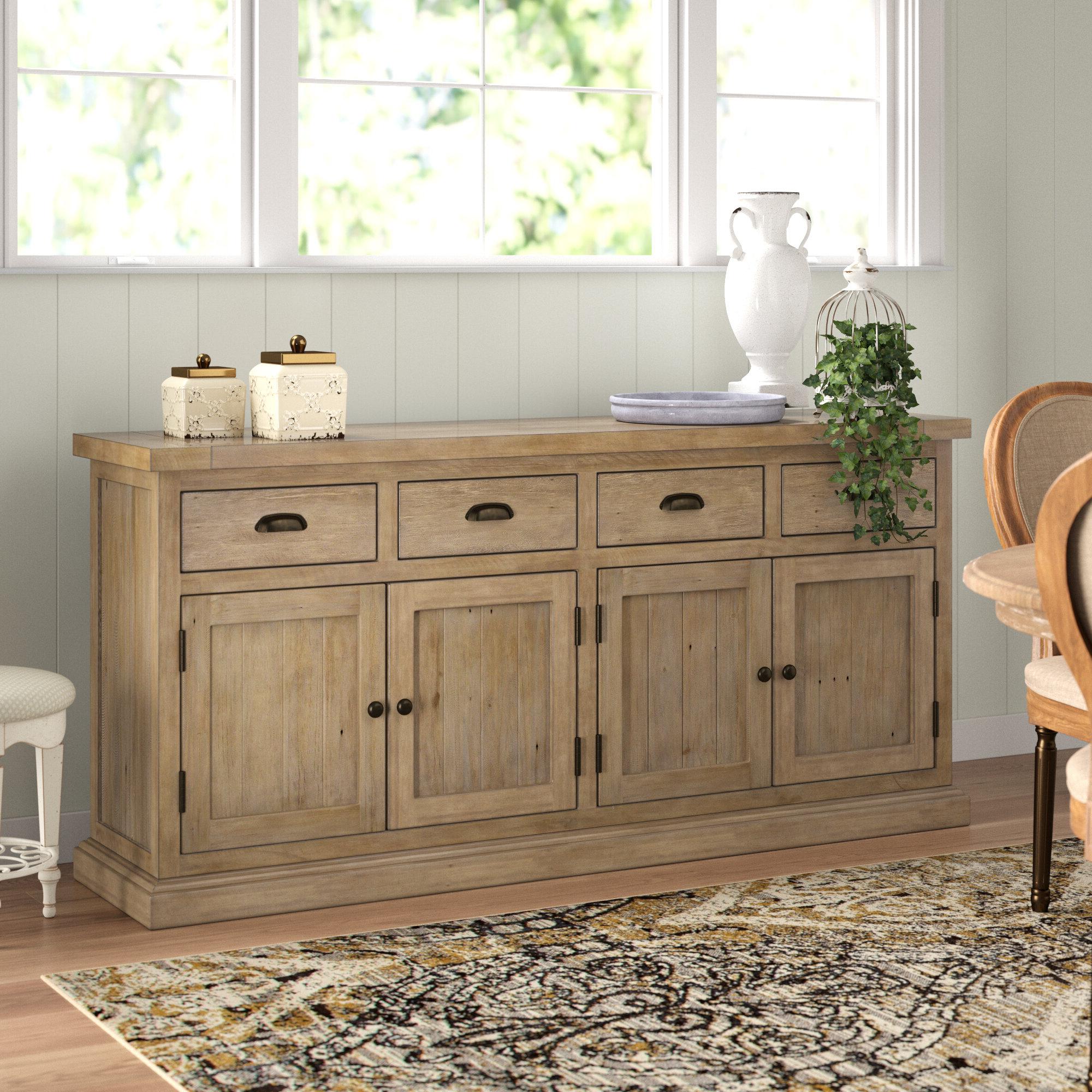 Lark Manor Gertrude Sideboard & Reviews | Wayfair For Gertrude Sideboards (View 3 of 20)