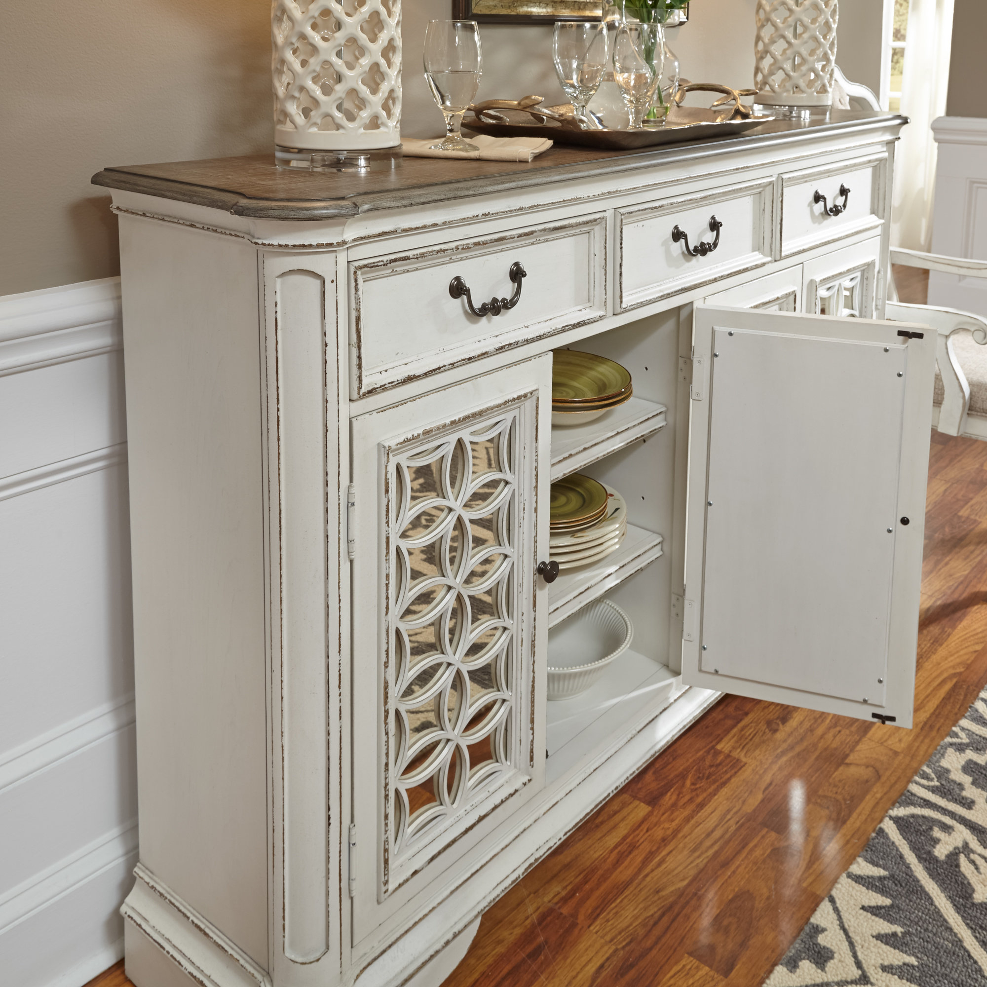 Lark Manor Tiphaine Sideboard Regarding Tiphaine Sideboards (View 10 of 20)