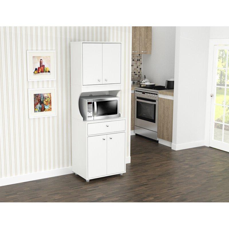 """Latest Elliana Storage 71"""" Kitchen Pantry Throughout Blanken Kitchen Pantry (View 16 of 20)"""