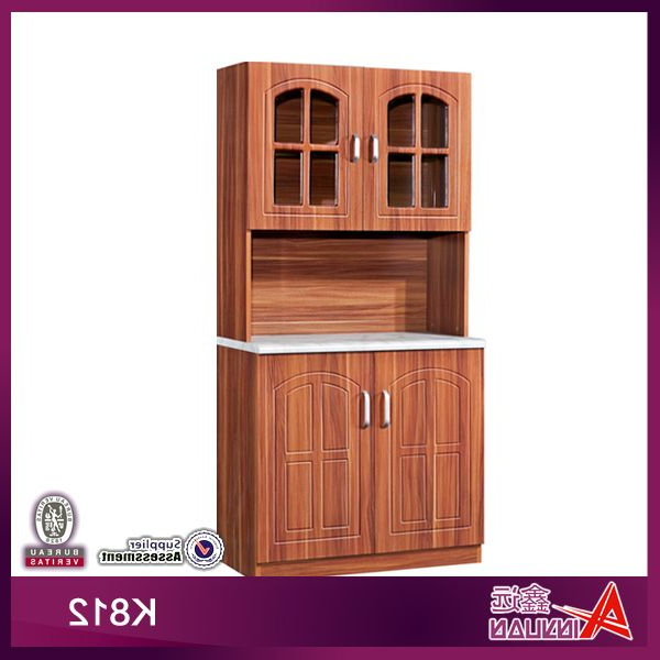 Latest K812 Cheap Portable Wooden Kitchen Pantry Cabinet $40~$50 Within Ramon Kitchen Pantry (View 13 of 20)