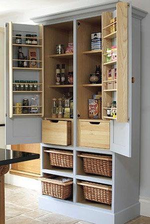 Latest No Pantry Space? Turn An Old Tv Armoire Into A Pantry In Uli Kitchen Pantry (View 11 of 20)