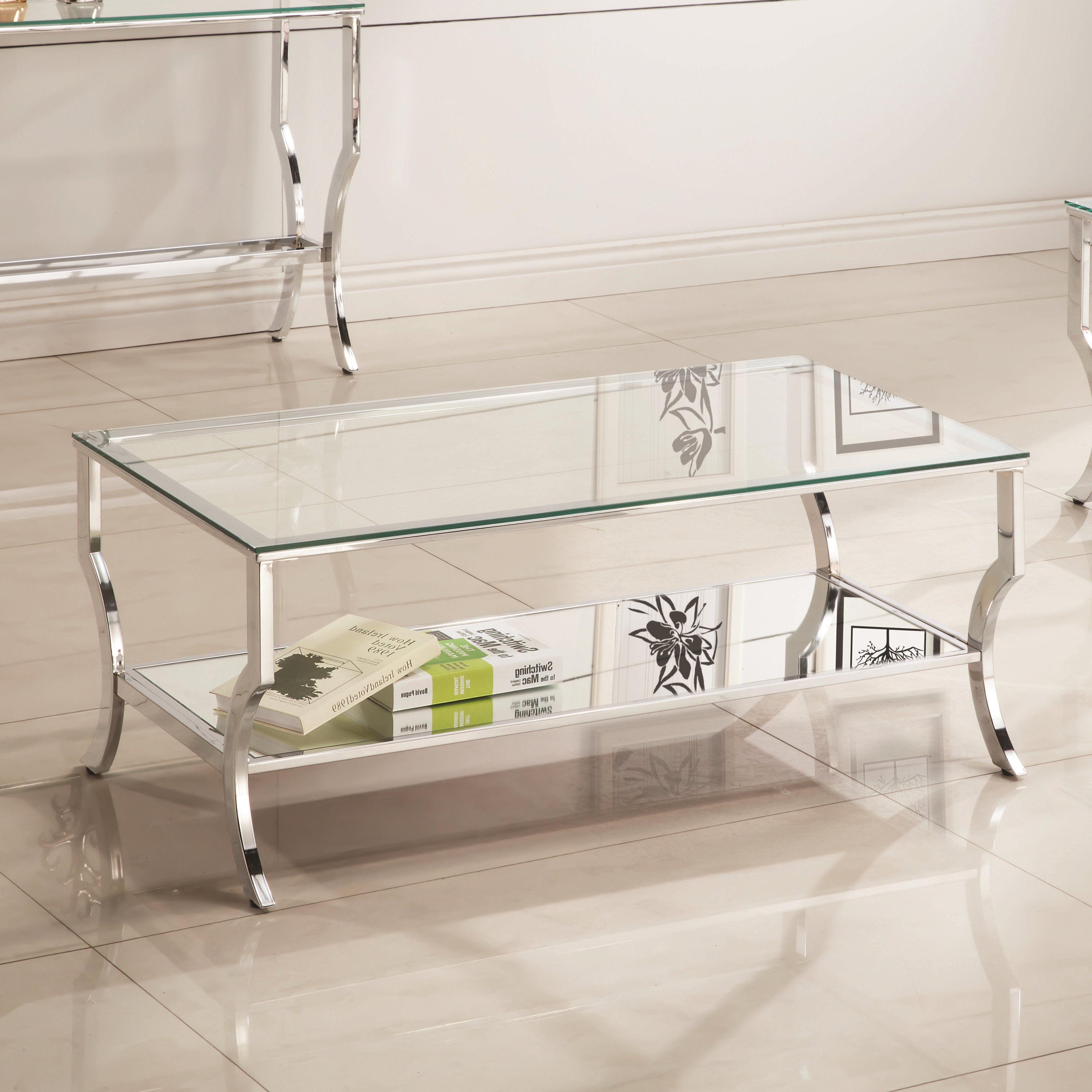Latest The Curated Nomad Quatrefoil Goldtone Metal And Glass Coffee Tables With Regard To Anndale Coffee Table (View 6 of 20)