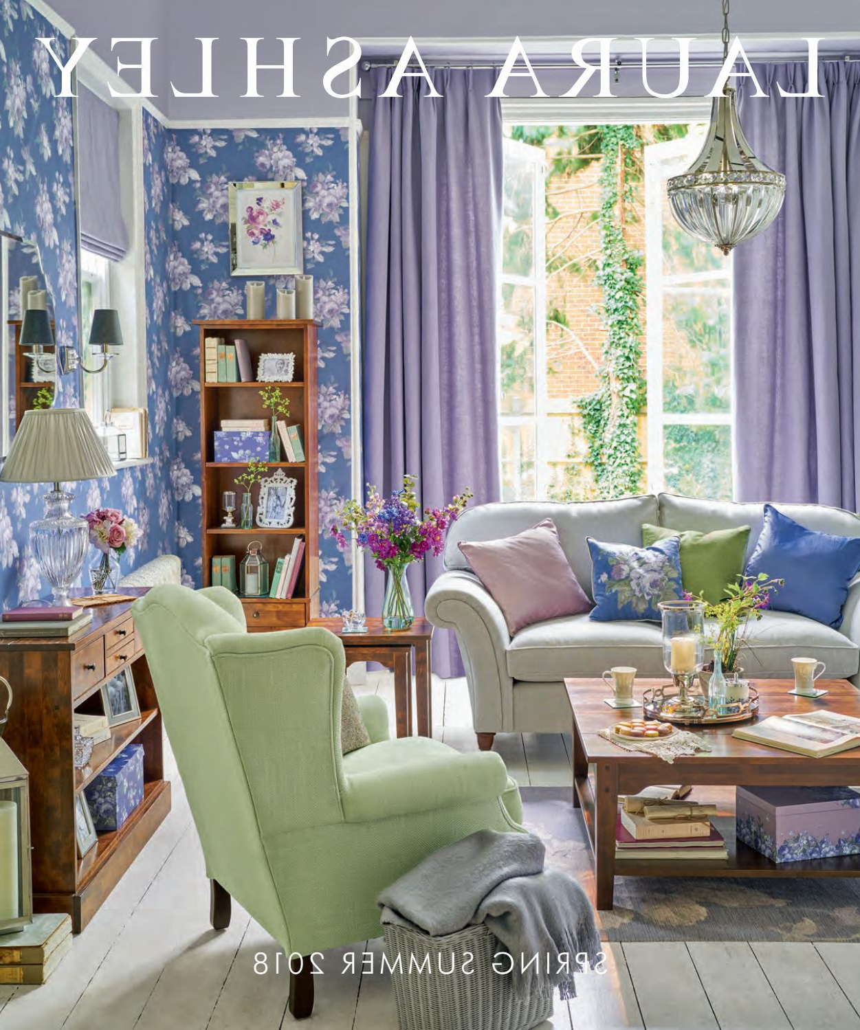 Laura Ashley Spring Summer 2018stanislav Petkanov – Issuu In Well Known Strick & Bolton Totte O Shaped Coffee Tables (View 19 of 20)