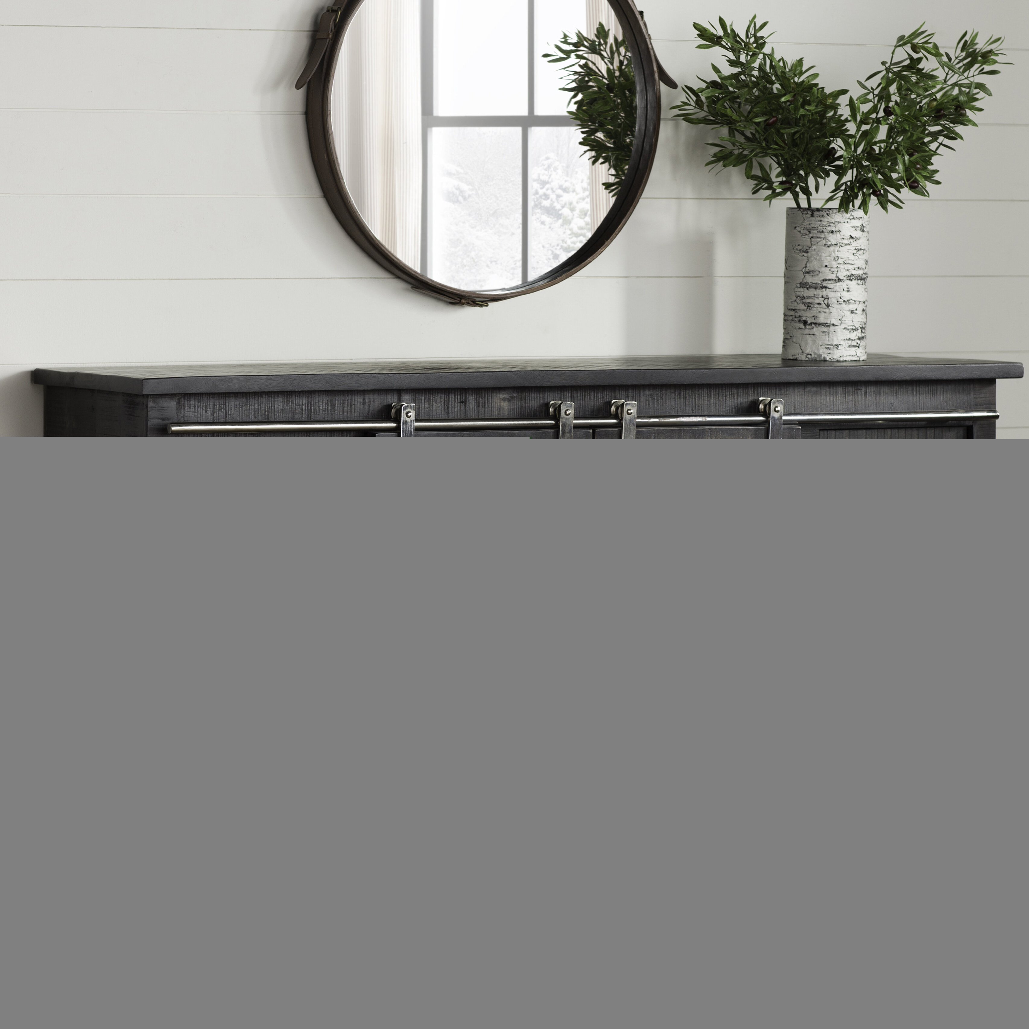 Laurel Foundry Modern Farmhouse Daub Credenza With Candide Wood Credenzas (View 14 of 20)