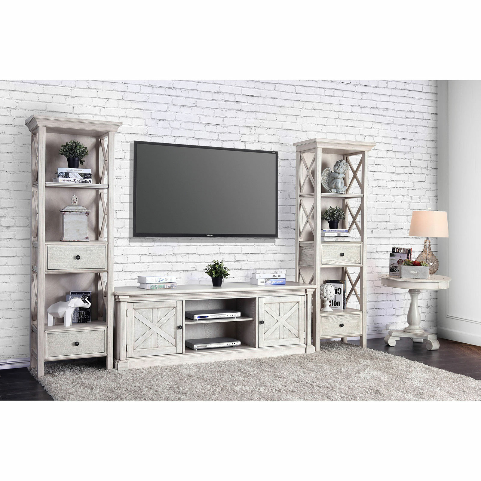 "Leandra Tv Stand For Tvs Up To 70"" Regarding Parmelee Tv Stands For Tvs Up To 65"" (View 13 of 20)"